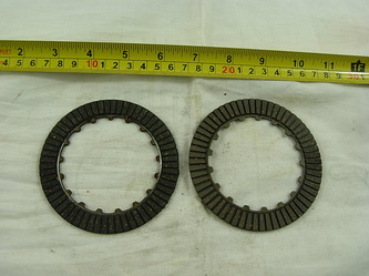 Manual Clutch Friction Plates